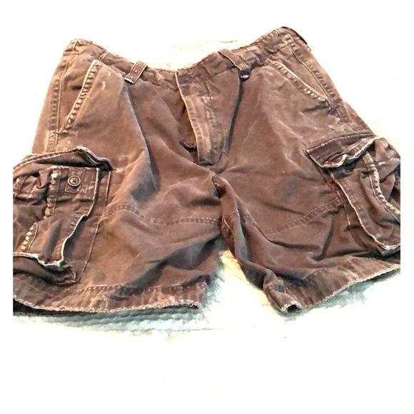 502b413c63 Abercrombie & Fitch Shorts | Mens Dark Grey Cargo | Poshmark